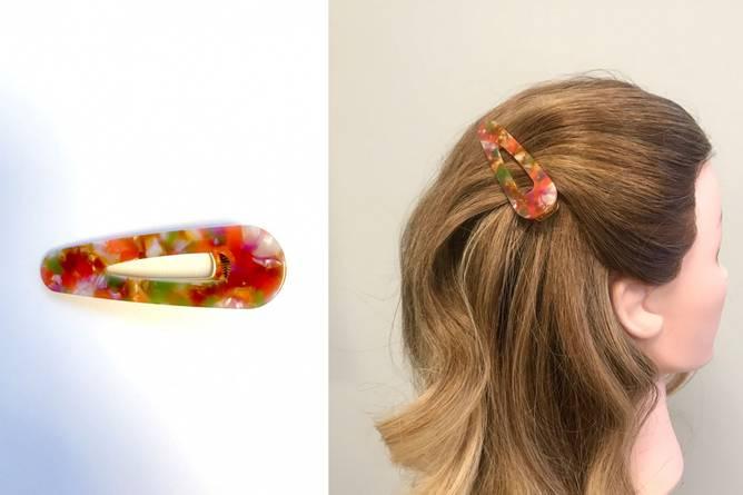 Bilde av ZG Love Marble Hairclip Multi
